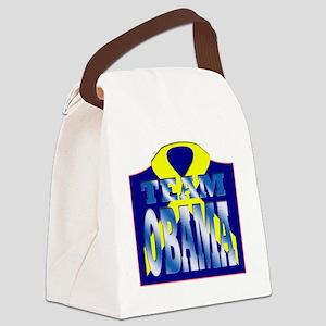 Team Obama Canvas Lunch Bag