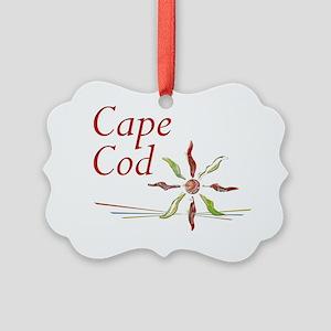 Cape Cod Picture Ornament