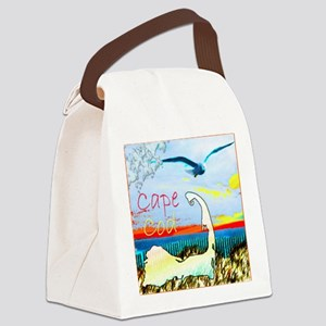 capecodgull1 Canvas Lunch Bag