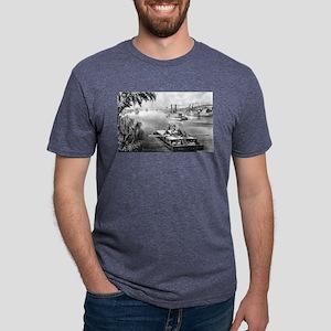 Bound down the river - 1870 Mens Tri-blend T-Shirt