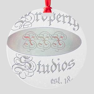propertyxxxstudios1 Round Ornament