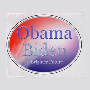 obamabidenfuture Throw Blanket