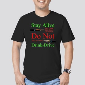stayalive Men's Fitted T-Shirt (dark)