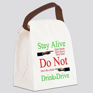 stayalive Canvas Lunch Bag
