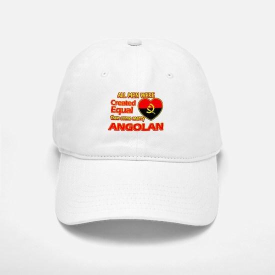 Angolan Wife Designs Baseball Baseball Cap