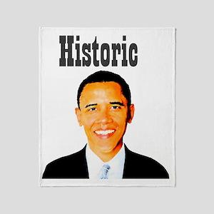 historicobama Throw Blanket