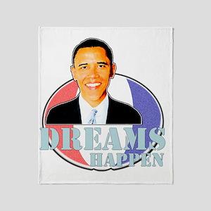 dreamshappen Throw Blanket