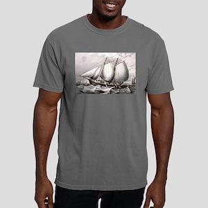 Cod fishing-off Newfoundland - 1872 Mens Comfort C