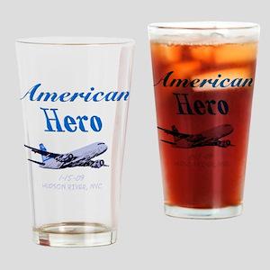 americanhero Drinking Glass