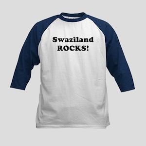 Swaziland Rocks! Kids Baseball Jersey