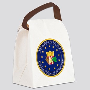 fbidoa Canvas Lunch Bag
