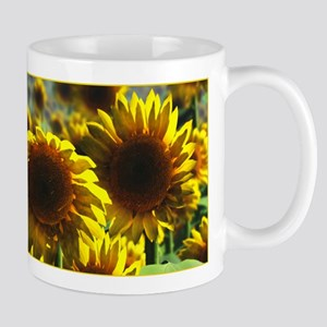 Sunflower Field Mug