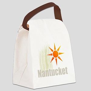 nantucketgrass Canvas Lunch Bag