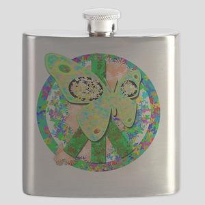 peacefulbutterflies Flask