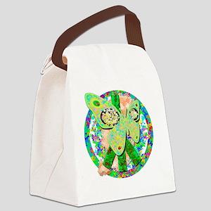 peacefulbutterflies Canvas Lunch Bag