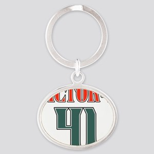 victory41 Oval Keychain