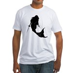The Armed Mermaid Fitted T-shirt