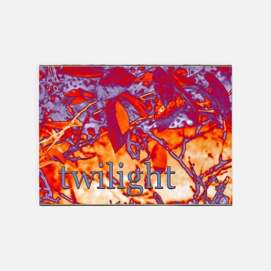 twilightleaves 5'x7'Area Rug