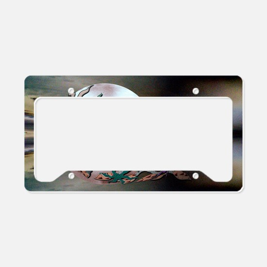 twinewmoonposter License Plate Holder