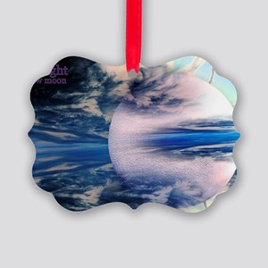 twinemoon11x17 Picture Ornament