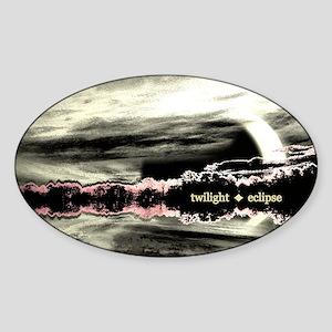 twilighteclipse11x17 Sticker (Oval)