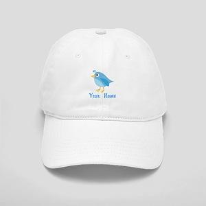 Personalized Blue Bird Cap