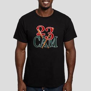 23cam Men's Fitted T-Shirt (dark)