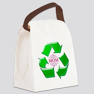 recyclemom Canvas Lunch Bag