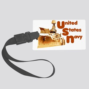 2-usnbship Large Luggage Tag
