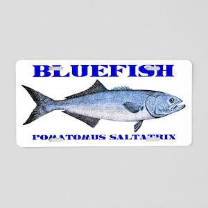 bluefish Aluminum License Plate