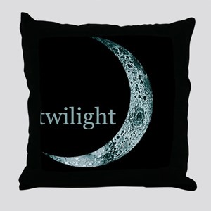 twiligthtcyanmoonmpad Throw Pillow