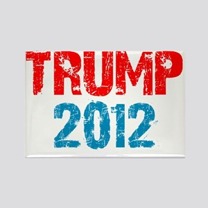 trump2012a Rectangle Magnet