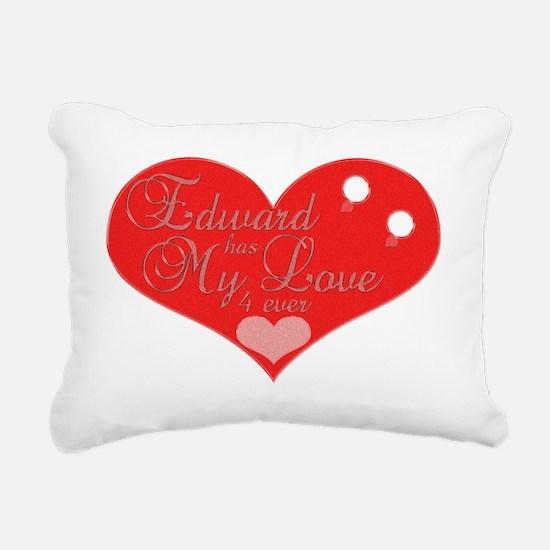 edwardhasmylove4ever Rectangular Canvas Pillow