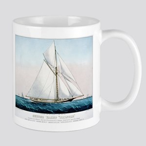 Cutter Yacht Thistle - 1887 11 oz Ceramic Mug