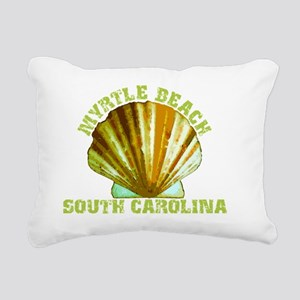 myrtlebeach Rectangular Canvas Pillow