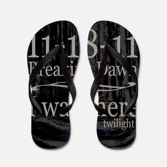 111811iwastherebreakingdawntreesipadcs Flip Flops