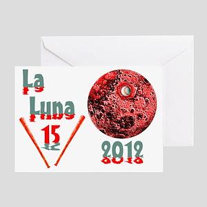 La Luna 15 Greeting Card