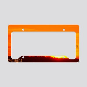 twilightbreakingdawnsunrisebe License Plate Holder