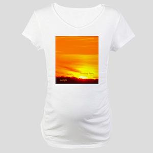 twilightbreakingdawnsunriseipads Maternity T-Shirt
