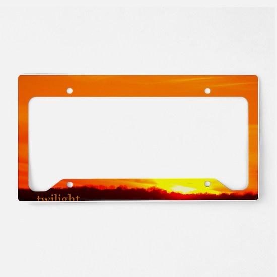 twilightbreakingdawnsunrise11 License Plate Holder