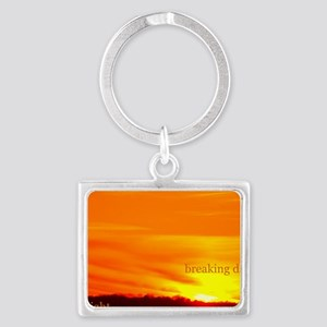 twilightbreakingdawnsunrise11x1 Landscape Keychain