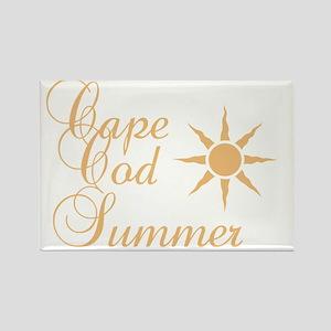 Cape Cod Summer Rectangle Magnet