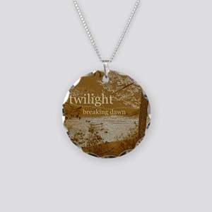 Twilight Breaking Dawn Necklace Circle Charm