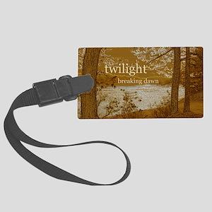 Twilight Breaking Dawn Large Luggage Tag