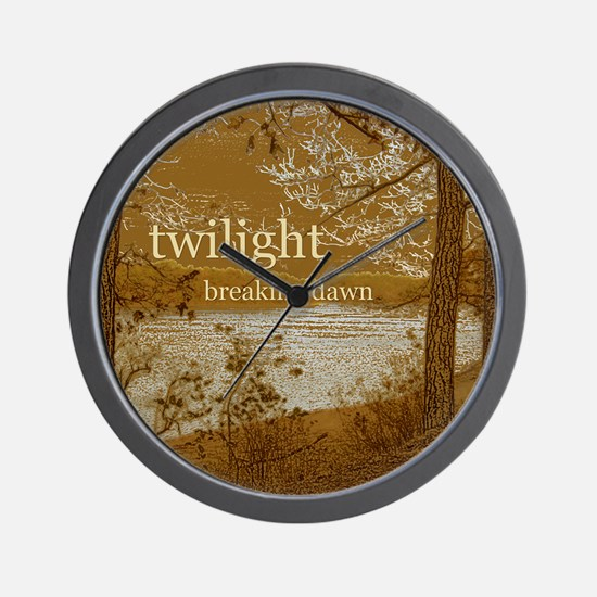 Twilight Breaking Dawn Wall Clock