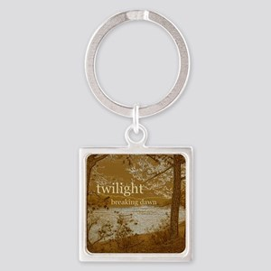 Twilight Breaking Dawn Square Keychain