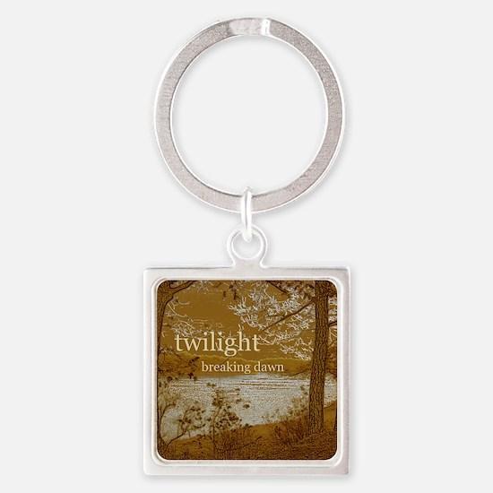 Twilight Breaking Dawn Square Keychain