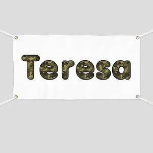 Teresa Army Banner
