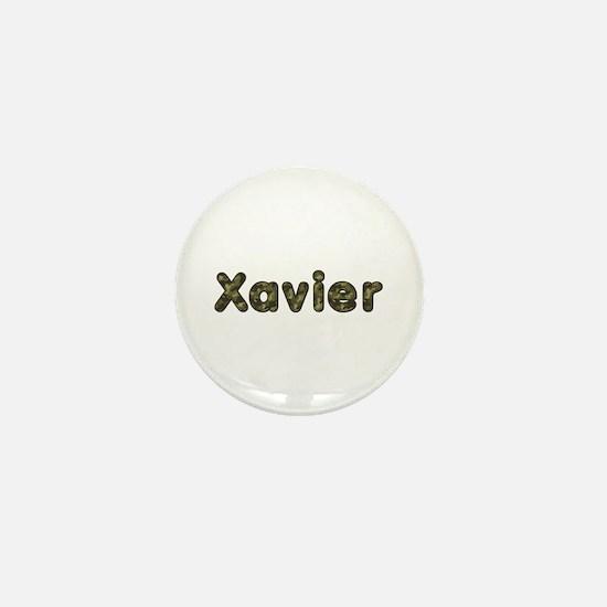 Xavier Army Mini Button