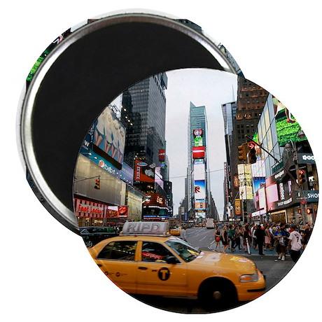 "Super! Times Square New Yo 2.25"" Magnet (100 pack)"